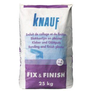 Fix en Finish 25kg zak